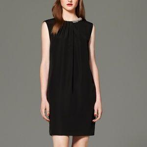 3.1 Phillip Lim Target Black Sheath Beaded Dress S